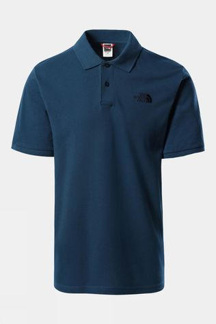 The North Face Mens Polo Piquet Monterey Blue