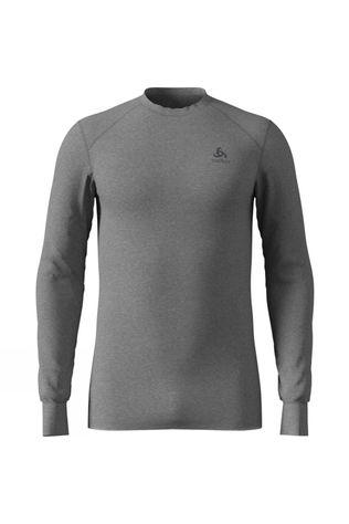 Odlo Mens Original Warm Long-Sleeve Top Grey Melange