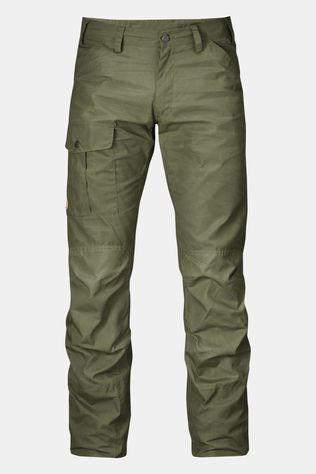 Fjallraven Mens Nils Trousers Raw Length Green