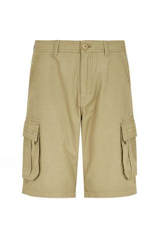 Weird Fish Mens Brize Shorts Taupe Grey