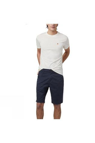 Tentree Mens Day Short Dark Ocean Blue