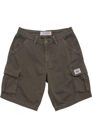 Brakeburn Mens Cargo Shorts Green