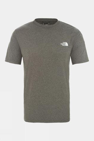 The North Face Men Reaxion Amp Crew T-Shirt TNF New Taupe Green Heather