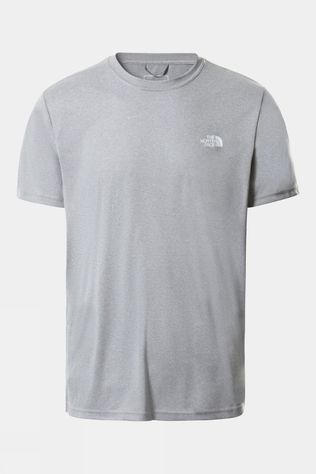 The North Face Men Reaxion Amp Crew T-Shirt TNF Mid Grey Heather