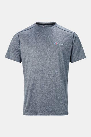 Berghaus Mens Explorer Tech Short Sleeve Crew T-Shirt Carbon