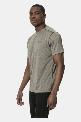 Berghaus Mens Explorer Tech Short Sleeve Crew T-Shirt Ivy Green