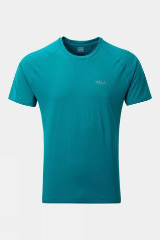 Rab Mens Force Short Sleeve Tee Azure