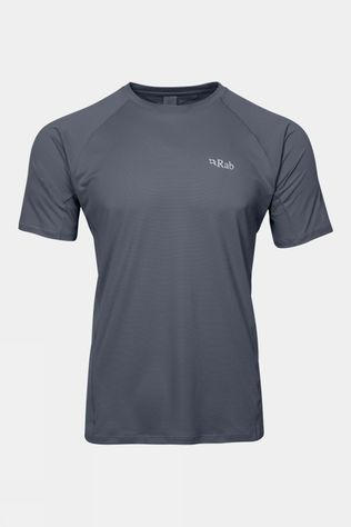 Rab Mens Force Short Sleeve Tee Steel