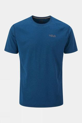 Rab Mens Mantle Tee Nightfall Blue Marl
