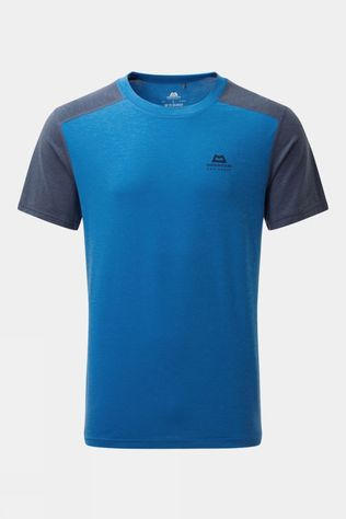 Mountain Equipment Mens Headpoint Block Short Sleeve Tee Lapis Blue/Medieval