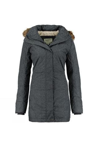 Ayacucho Womens Urban Heat Down Parka Ecru