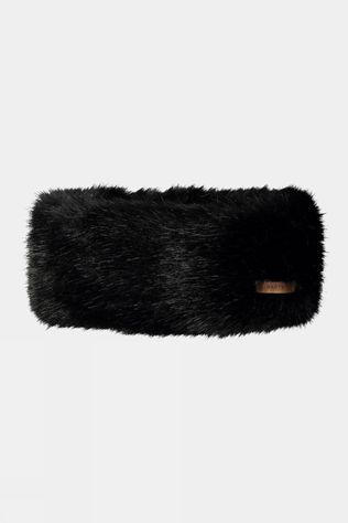 Barts Fur Headband Black Black