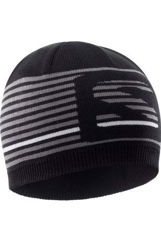 Salomon Mens Flat Spin Short Beanie Black/Quiet Shade