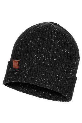 Buff Mens Kort Knitted Hat Black