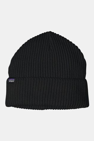 Patagonia Mens Fisherman's Rolled Beanie Black