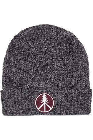 Tentree Patch Beanie Meteorite Black Marled