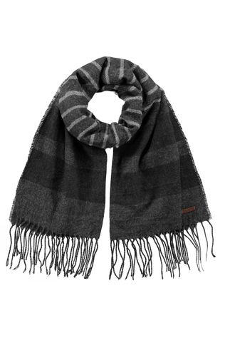 Barts Mens Twan Scarf Dark Heather