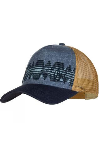 Buff Mens Lifestyle Trucker Cap Tzom Stone Blue