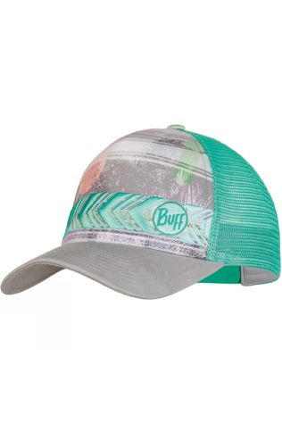Buff Mens Lifestyle Trucker Cap Biome Aqua