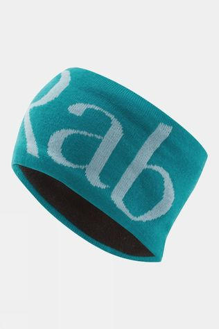 Rab Knitted Logo Headband Aquamarine