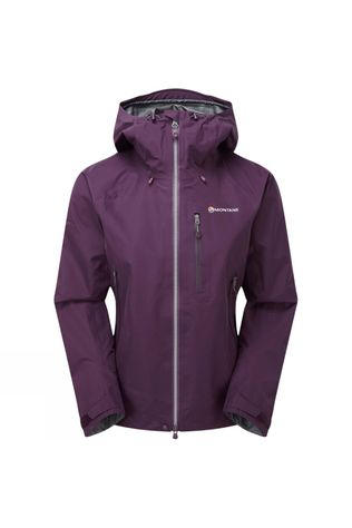 Montane Womens Alpine Pro Jacket Saskatoon Berry/Stratus Grey