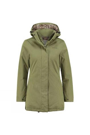 Ayacucho Womens Noorvik Parka Light Pesto