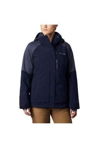 Columbia Womens Wildside Jacket Nocturnal Heather
