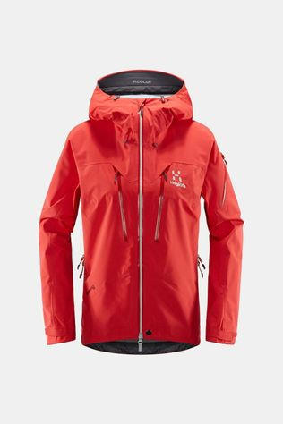 Haglofs Womens Spitz Jacket Hibiscus red