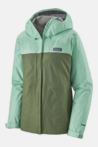 Patagonia Womens Torrentshell 3L Jacket Gypsum Green