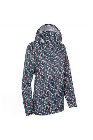Ayacucho Womens Atlantis Eco Jacket Dark Navy Wild Flower