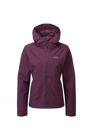 Jack Wolfskin Womens Oban Sky Jacket Grape Wine