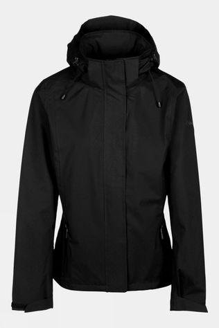 Our Planet Womens Relief Rain Jacket Black