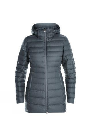 Berghaus Womens Hudsonian Long Down Jacket Light Carbon Marl