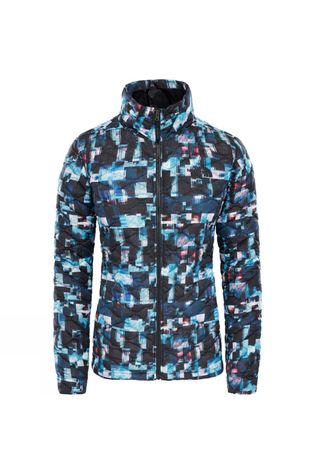 The North Face Womens Thermoball Jacket Muilti Glitch Print