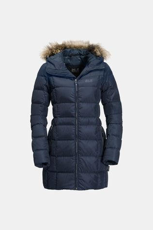 Jack Wolfskin Womens Baffin Island Coat Midnight Blue