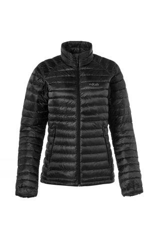 Rab Womens Microlight Jacket Black / Seaglass