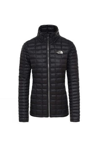 The North Face Womens ThermoBall Eco Full Zip Jacket Tnf Black