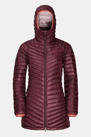 Jack Wolfskin Womens Atmosphere Coat Fall Red
