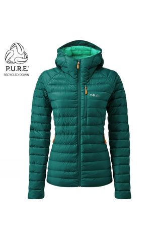 Rab Womens Microlight Alpine ECO Jacket Atlantis