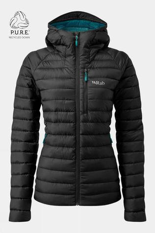 Rab Womens Microlight Alpine ECO Jacket Black