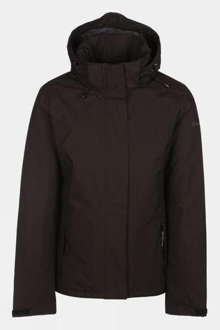 Our Planet Womens Relief Insulated Jacket Black