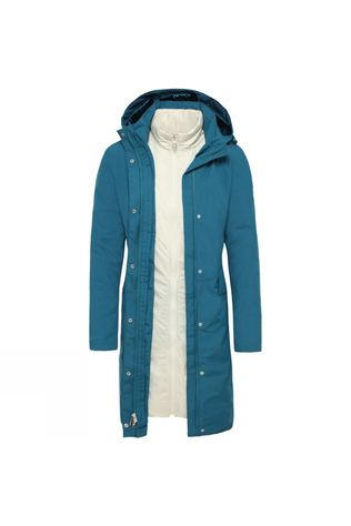 The North Face Womens Suzanne Triclimate Jacket Blue Coral