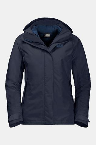 Jack Wolfskin Womens Iceland Voyage 3In1 Jacket Midnight Blue