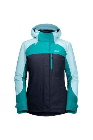 Jack Wolfskin Womens Whitney Peak 3-in-1 Jacket Midnight Blue