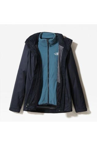 The North Face Womens Evolve II Triclimate Jacket Urban Navy/Mallard Blue