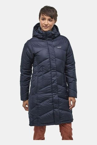 Patagonia Womens Down With It Parka Neo Navy