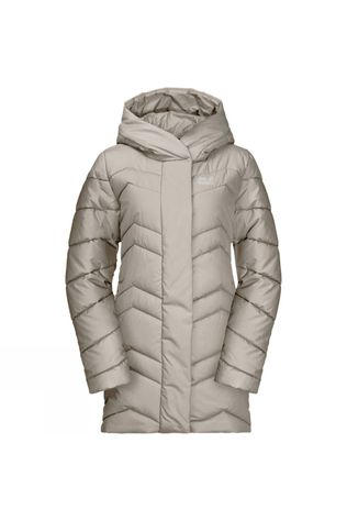 Jack Wolfskin Womens Kyoto Insulated Coat Dusty Grey