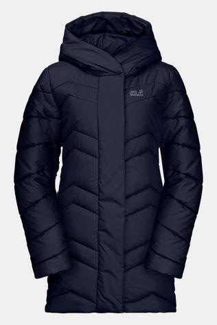 Jack Wolfskin Womens Kyoto Insulated Coat Midnight Blue