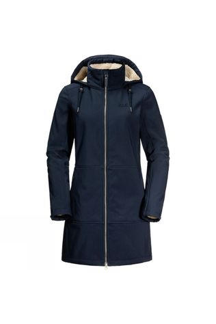 Jack Wolfskin Womens Windy Valley Coat Midnight Blue