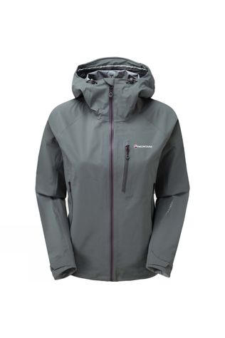 Montane Women's Fleet Jacket Stratus Grey/Saskatoon berry